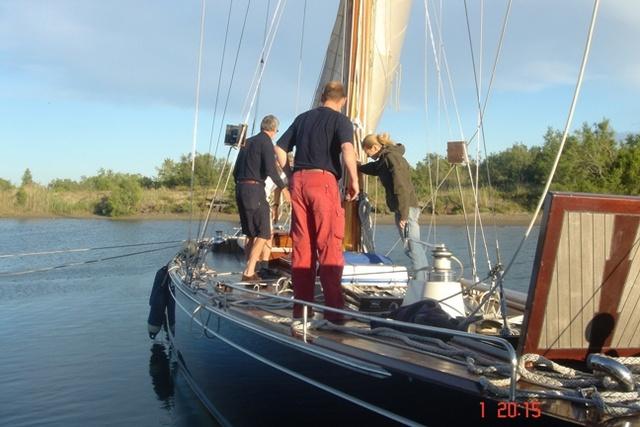 Praktijk Zeilboot Cursus