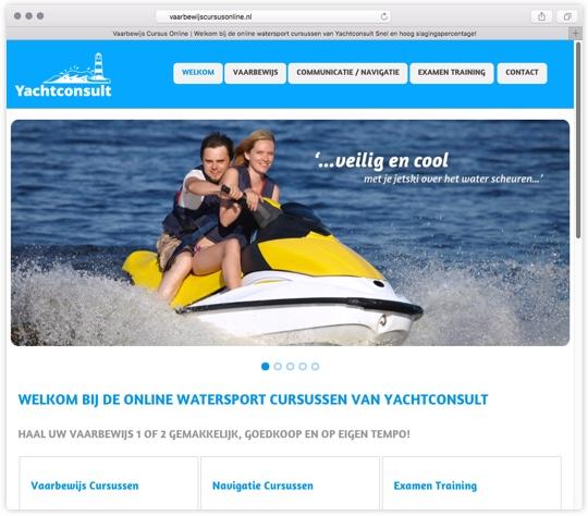 Vaarbewijs Online Cursus van Yachtconsult